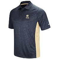 Men's Colosseum Notre Dame Fighting Irish Wedge Polo