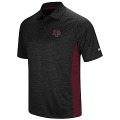 Men's Colosseum Texas A&M Aggies  Wedge Polo