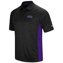 Men's Colosseum TCU Horned Frogs  Wedge Polo