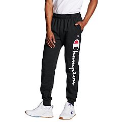 Men's Champion Script Logo Fleece Jogger Pants