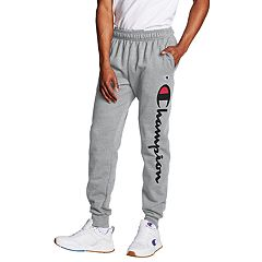 Men's Champion Script Logo Fleece Jogger Pants