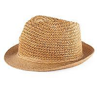 Women's SONOMA Goods for Life™ Crochet Straw Fedora