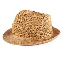 Women's SONOMA Goods for Life™ Crochet Straw Fedora