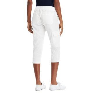 Women's Chaps Twill Straight-Leg Capris