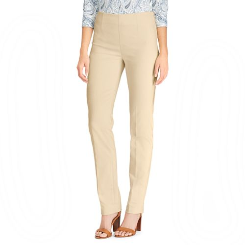 Women's Chaps Midrise Straight-Leg Pants