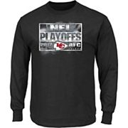 Men's Kansas City Chiefs 2017 NFL Playoffs Passing Game Tee