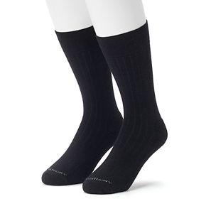 Men's 2-pack Marc Anthony Ribbed Performance Crew Socks
