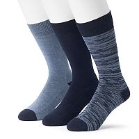 Men's 3-pack Marc Anthony Comfort Cuff Crew Socks