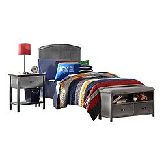 Hillsdale Furniture Urban Quarters Twin Bed & Storage Bench 2-piece Set