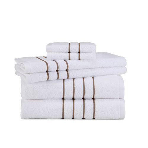 Grand Patrician Hotel Suite 6-piece Bath Towel Set