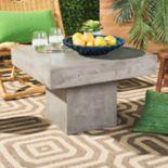 Safavieh Square Indoor / Outdoor Concrete Coffee Table
