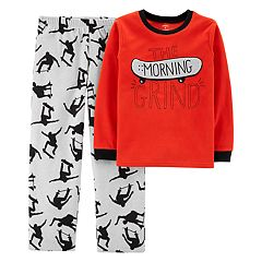 Boys 4-14 Carter's Skater Fleece 2-Piece Pajama Set
