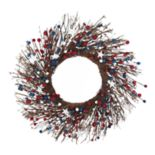 Celebrate Americana Together Artificial Patriotic Wreath