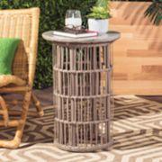 Safavieh Concrete Top Indoor / Outdoor End Table