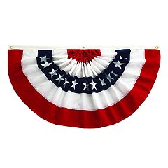 Celebrate Americana Together Small Outdoor Pleated Bunting