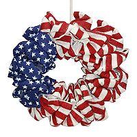 Celebrate Americana Together Indoor / Outdoor Burlap Wreath