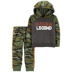 Baby Boy Carter's 'Future Legend' Camo Hoodie & Pants Set