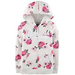 Girls 4-12 OshKosh B'gosh® Floral Hooded Sweatshirt
