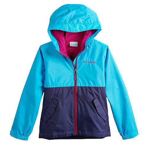 Girls 4-18 Columbia Rain to Fame Jacket