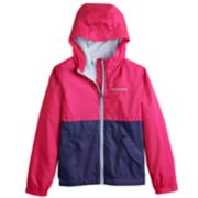 Girls 4-18 Columbia Rain to Fame Jacket