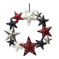 Celebrate Americana Together Pre-Lit Patriotic Star Wall Decor