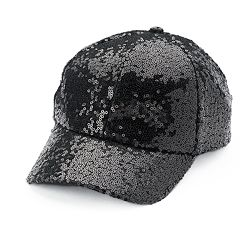 Women's Mudd® Sequin Baseball Cap