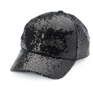 Women's Mudd® Sequin Baseball Cap