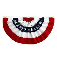 Celebrate Americana Together Large Outdoor Pleated Bunting