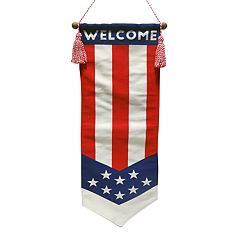 Celebrate Americana Together Patriotic 'Welcome' Banner