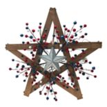 Celebrate Americana Together Pre-Lit Wood Star Wall Decor