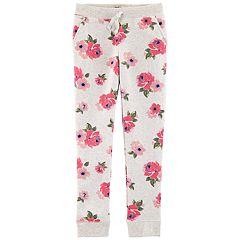 Girls 4-12 OshKosh B'gosh® Floral Fleece Pants