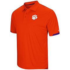 Men's Colosseum Clemson Tigers Loft Polo