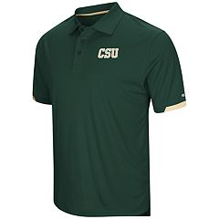 Men's Colosseum Colorado State Rams Loft Polo