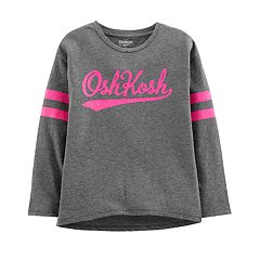 Girls 4-12 OshKosh B'gosh® Glitter Logo Graphic Tee