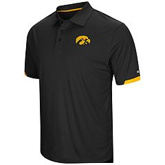 Men's Colosseum Iowa Hawkeyes Loft Polo