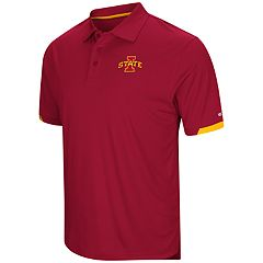 Men's Colosseum Iowa State Cyclones Loft Polo