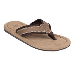 Wembley Two-Tone Men's Thong Flip Flops