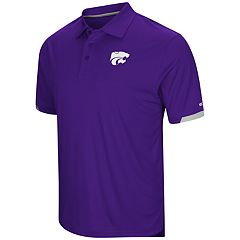 Men's Colosseum Kansas State Wildcats Loft Polo