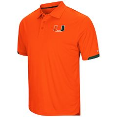 Men's Colosseum Miami Hurricanes Loft Polo