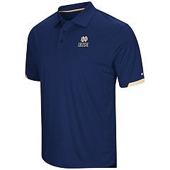 Men's Colosseum Notre Dame Fighting Irish Loft Polo