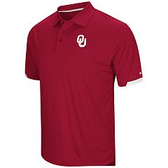 Men's Colosseum Oklahoma Sooners Loft Polo