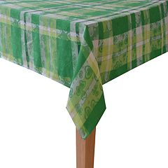 Celebrate St. Patrick's Day Together Shamrock Tablecloth