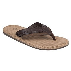 Wembley Braided Men's Thong Flip Flops