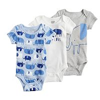 Baby Boy Jumping Beans® 3 pkPrint Bodysuits