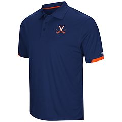 Men's Colosseum Virginia Cavaliers Loft Polo
