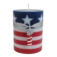 Celebrate Americana Together Fireworks 3' x 4' Pillar Candle