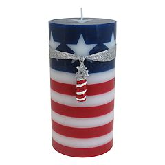 Celebrate Americana Together Fireworks 3' x 6' Pillar Candle