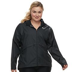 Plus Size Nike Hooded Running Jacket