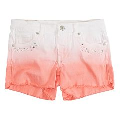 Girls 7-16 Levi's Sunrise Ombre Studded Shorty Shorts