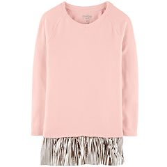 Girls 4-12 OshKosh B'gosh® Pleated-Hem Tunic Sweatshirt